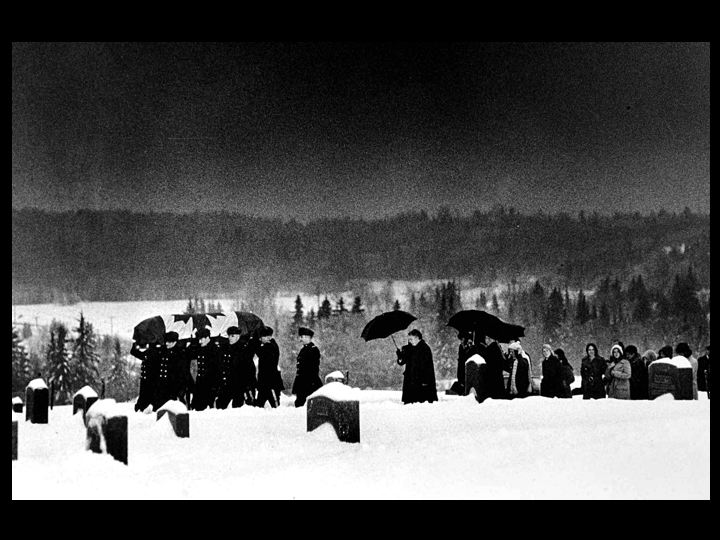 Lucky Shot? PM Lester Pearson's funeral