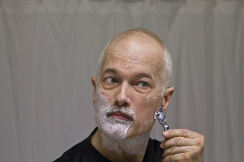 Jack Layton – The Shave